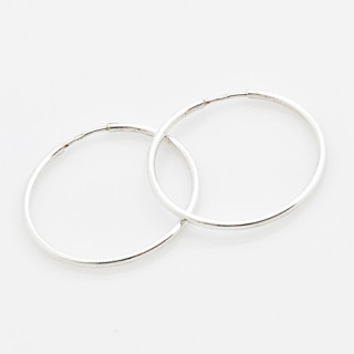 Stříbrné kroužky užší 000.00027