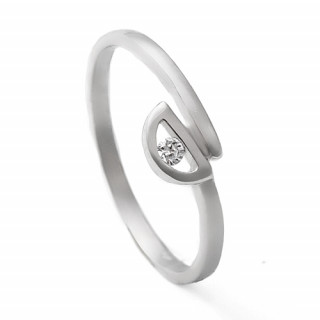 Zlatý prsten se zirkonem 05.1308