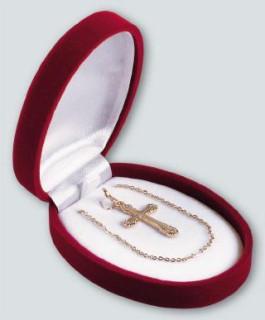 Krabička na šperky ovál velký 18120.15
