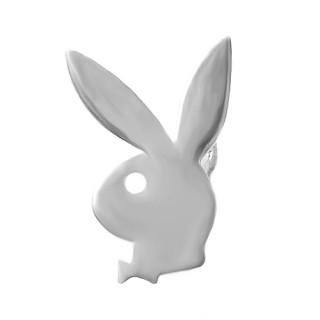 Stříbrná náušnice levá zajíc velká 1ks 000.00118