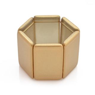 Náramek S.T.A.M.P.S. Model Belta metallic gold