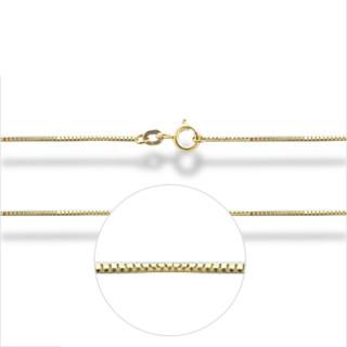 Zlatý řetízek venezia žluté zlato 0,8mm 000.00001