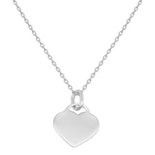 Stříbrný náhrdelník srdíčko 15.AGS241