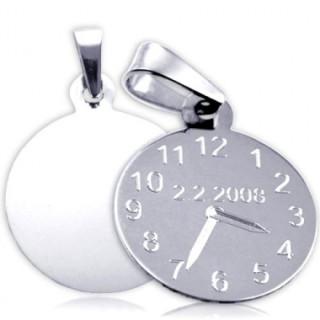 Křtící hodiny z bílého zlata cena včetně rytí ZZ20.P11
