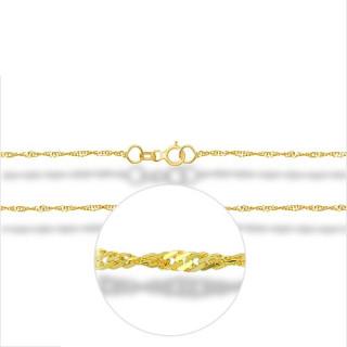 Zlatý dětský náramek lambáda 000.00010