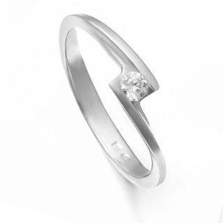 Zlatý zásnubní prsten se zirkonem ZZ11.226022133
