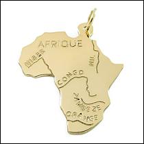 Přívěsek Afrika