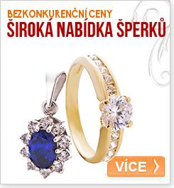 nabídka šperků