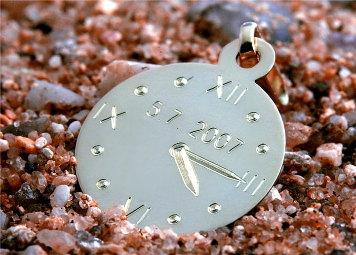 foto křtící hodinky